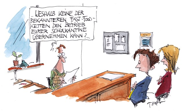 Cartoon Informationsfreiheit